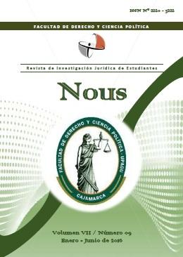 NOUS: Revista de Investigación Jurídica de Estudiantes